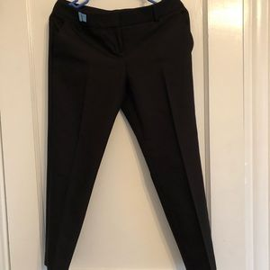 Express Pants - Express Black Columnist Crop Pants size 2 Short